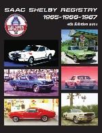 SAAC Shelby Registry 1965-1966-1967